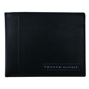 Tommy Hilfiger Cartera para hombre con 6 bolsillos