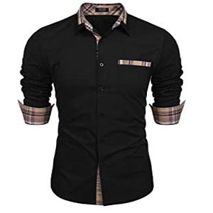 camisa de vestir slim