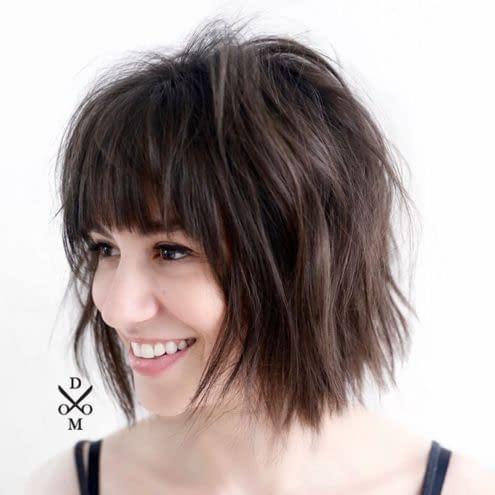 peinado estilo corto