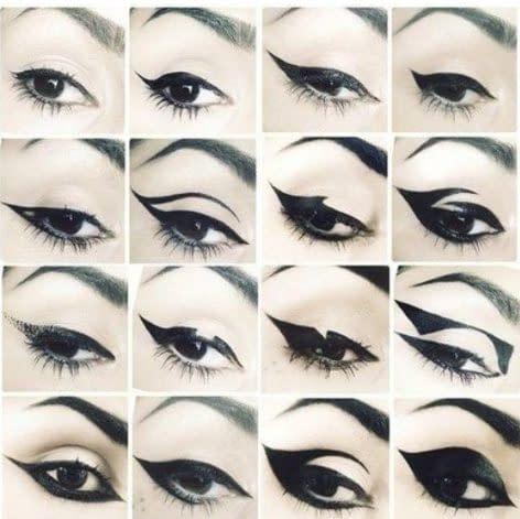 maquillaje sombre de ojos